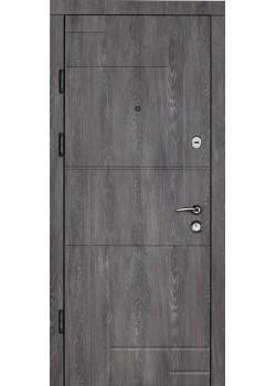 Двери Цитадель К-7 мод 166 Шале графит-Шале сивый Булат