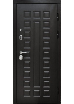 Двери Сенатор 120мм Венге/Белый ясень зеркало Таримус