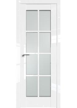 Двери 101 L - Белый Люкс Grazio