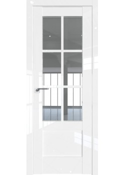 Двери 103 L - Белый Люкс Grazio