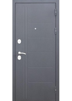 Двери Троя 115мм Серебро/Дымчастый дуб Царга Таримус