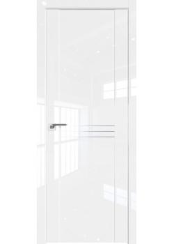 Двери 150 L - Белый Люкс Grazio