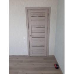 Двери PND-01 BLK эш вайт Korfad