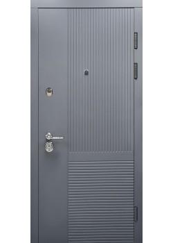 Двери ГАРАНТ мод 231 мусонное дерево-платиновое дерево Булат