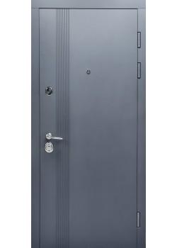 Двери МАГНАТ мод 172 графит матовый-белый супермат Булат