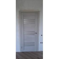 Межкомнатные Двери Sovana BLK дуб мокко Leador ПВХ плёнка