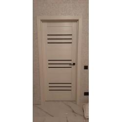 Двери Sovana BLK дуб латте Leador