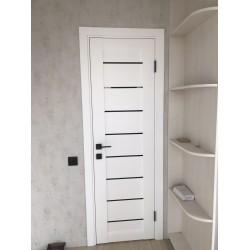 Межкомнатные Двери Neapol Белые BLK Leador ПВХ плёнка