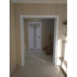 Двери Verona Белые сатин Leador