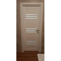 Межкомнатные Двери Sovana BLK дуб латте Leador ПВХ плёнка