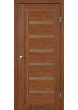 Двери Amelia сатин бронза Leador