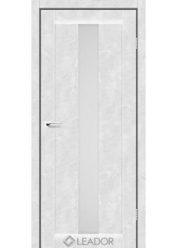 Двери Bari сатин белый Leador
