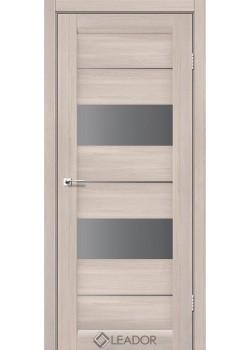 Двери Canneli серый графит монблан Leador