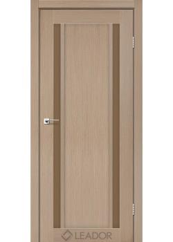 Двери Catania сатин бронза Leador