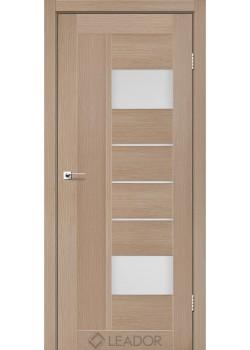 Двери Como сатин белый Leador