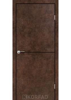 Двері DLP-01 black Korfad