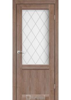 Двери Galant GL-01 орех бургун Darumi