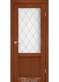 Двери Galant GL-01 орех роял Darumi