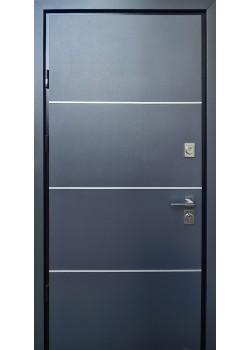 Двери Giada D антрацит-белый Страж