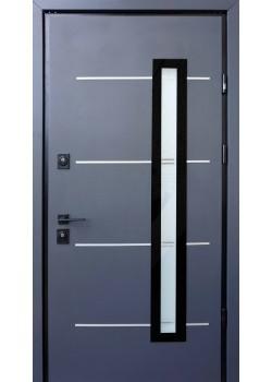 Двери Giada E антрацит-белый Страж