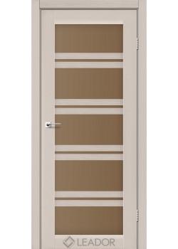 Двери Lodi сатин бронза Leador