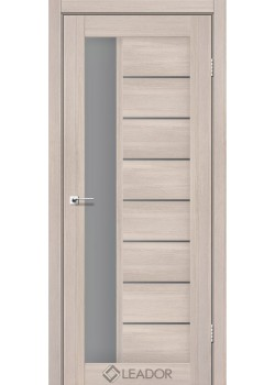 Двери Lorenza серый графит монблан Leador