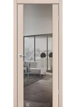 Двери SR-01 зеркало серебро Korfad