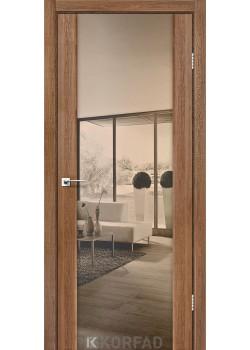Двери SR-01 зеркало бронза Korfad