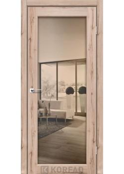 Двери SV-01 бронза триплекс зеркало Korfad