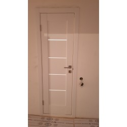 """Межкомнатные Двери Мира Белый Матовый """"Новый Стиль"""" ПВХ плёнка"""