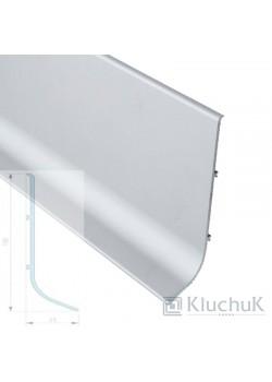 Плінтус алюмінієвий накладний 100 мм анодированний Kluchuk