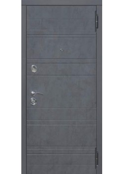 Двери Чарлстон 105мм Графит/Глянец мокко Царга Таримус