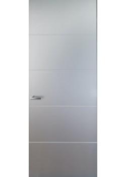 Двері прихованого монтажу фарбовані з молдінгом Danapris
