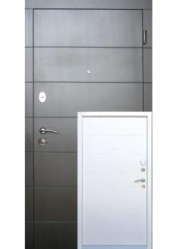 Двери Элегант Стандарт Плюс рама 2 цвета Redfort