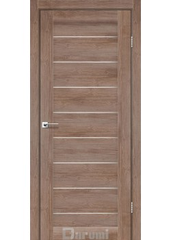 Двери Leona орех бургун сатин белый Darumi