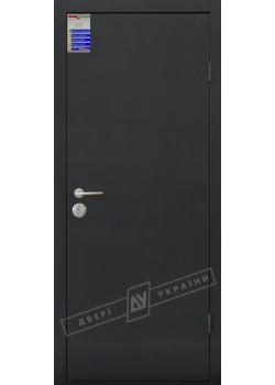Двери Флеш САЛЮТ 2 металл / металл тёмно-серый металлик Riccardi Двери Украины
