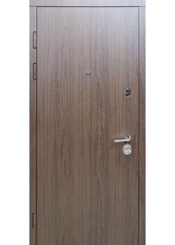 Двери ГАРАНТ гладкая мод 156 Vinorit дуб темный Булат