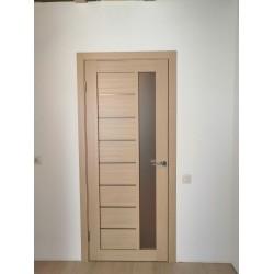 Двери Lorenza Сатин бронза дуб мокко Leador