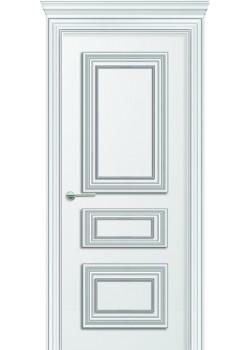 Двери Леон ПГ белая DVERIPRO