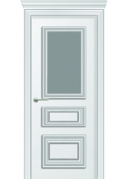 Двери Леон ПО белая DVERIPRO