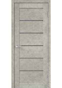 Двери Loft 1 бетон светло-серый Velldoris