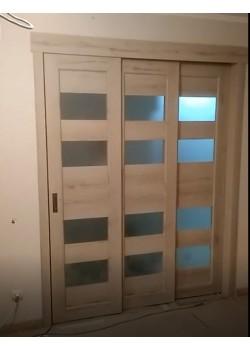 Потрійні розсувні двері Heffele Korfad