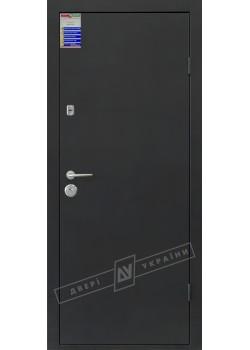 Двері Метал-флеш Салют 2 м/мдф нерж BARRERA + RICCARDI Двері України