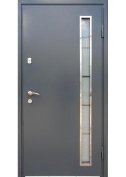 Двері Мет/МДФ зі склопакетом 1200 Redfort