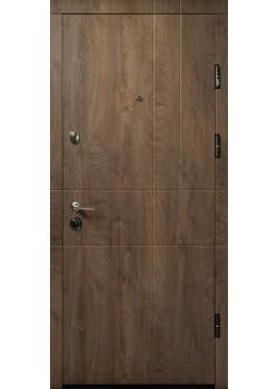 Двери ПК-185 ЕЛИТ Спил дерева коньячний/медовый Министерство Дверей
