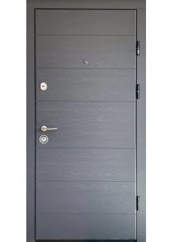Двери ПК-202 ЕЛИТ Дуб грифель/дуб пломбир Министерство Дверей