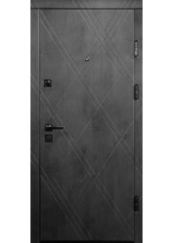 Двери ПК-266+ Q Бетон темный Министерство Дверей