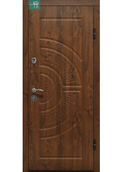 Двери ПО-08 V Дуб темный Vinorit Министерство Дверей