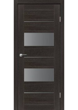 Двери Canneli Серый графит Leador