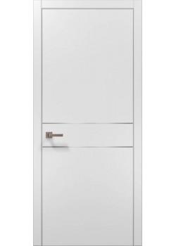 Двери PL-07 белый матовый Папа Карло